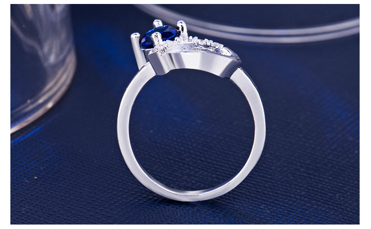 ring 925 silver jewelry for women x5