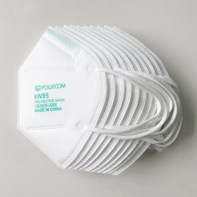 20PCS KN95 FFP2 Filter Face Masks 5 Layer Non-disposable
