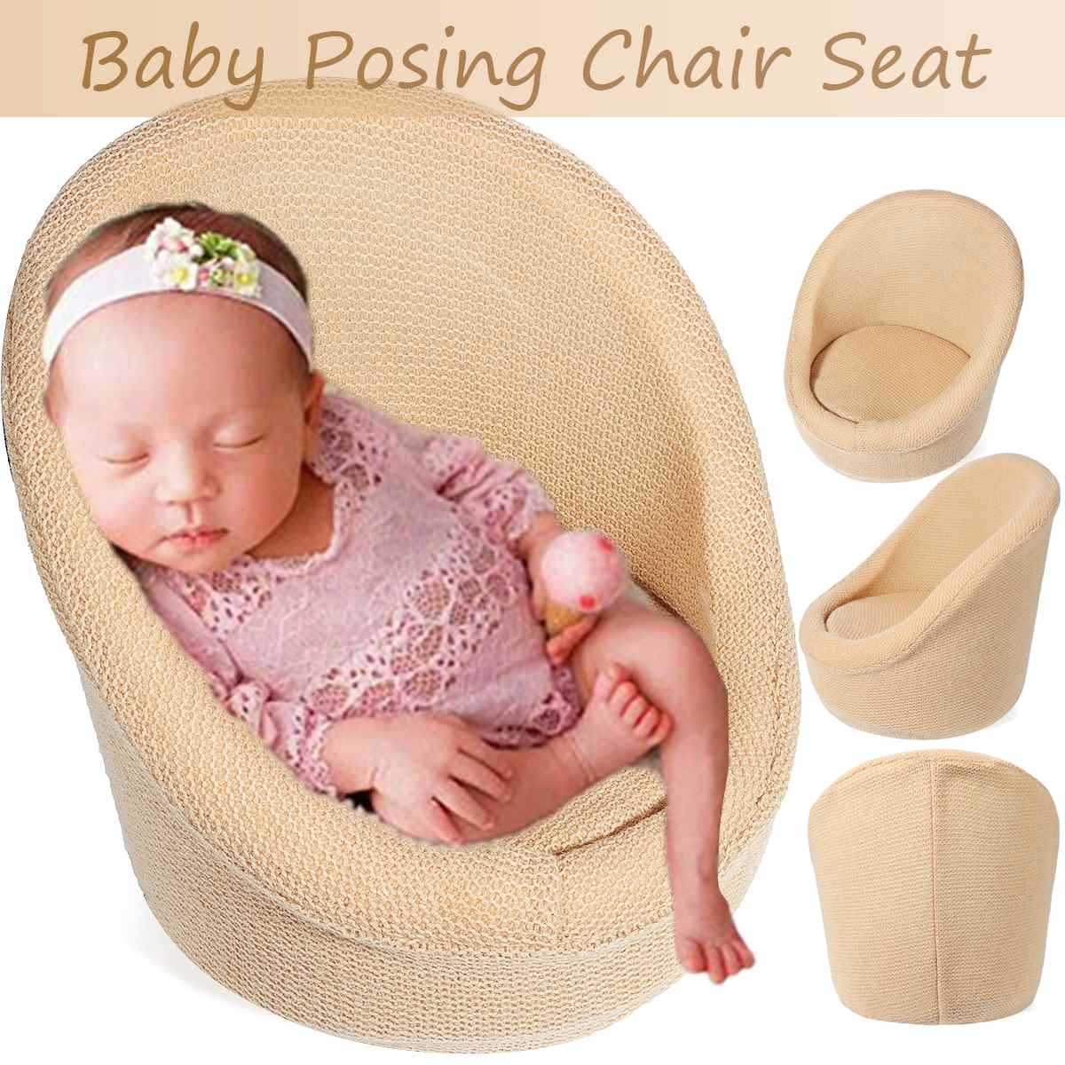 Newborn Photography Props Baby Posing Sofa Newborn Basket Props Baby Photography Studio Infant Photoshoot Furniture