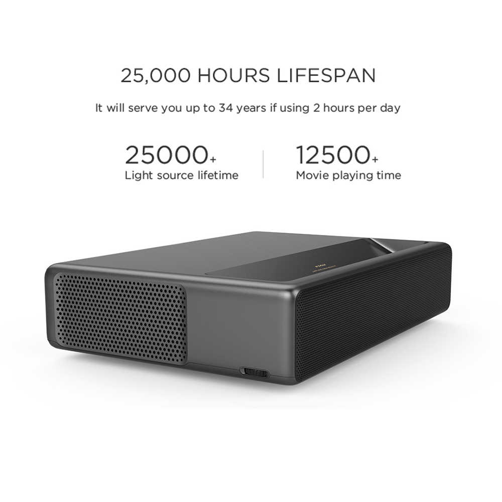 Orijinal Wemax bir PRO lazer projektör 7000 lümen MIUI TV Android 6.0 ev sineması 150 inç 1080P Full HD 4K Dolby ses DTS