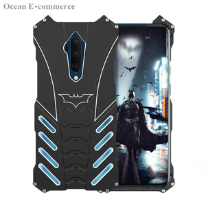 Image 2 - Luxury Batman Elements Aluminum Metal Case For OnePlus 7T/ Pro Slim Hard Shockproof Back Cover Case OnePlus7T Pro One Plus 7TPro