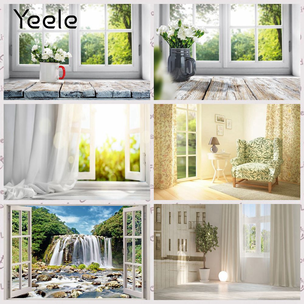 YEELE Modern Kitchen Interior Backdrop for Photography 12x8ft Kitchen with Stainless Steel Appliances Background Luxury Apartment Home Decoration Kids Adults Portrait Photo Studio Props Wallpaper