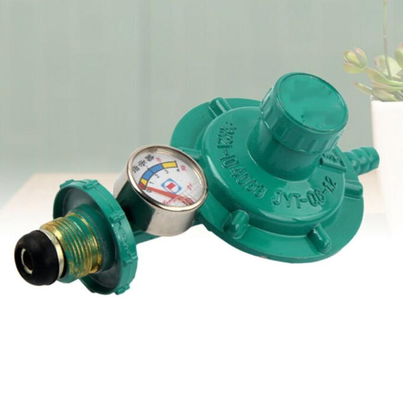 Adjustable Propane Regulator Explosion Proof Easily Installation Tank Gas Release Pressure Gauges Regulating Valve