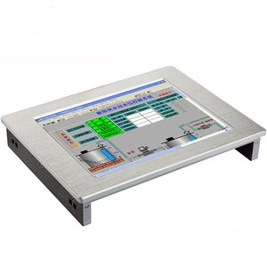 """Image 1 - Industrial PC 15"""" Monitor IP65 Waterproof Full Flat 8.4""""/10.1""""/12.1""""/15"""" Touch Screen LCD Computer Monitor touch Panel PC"""