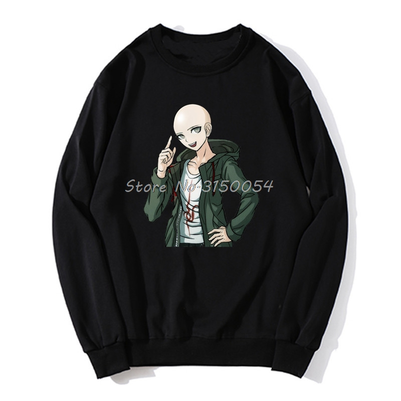 Komaeda Sans sweat à capuche Danganronpa Undertale Komaeda Sans Anime printemps automne hommes pull sweats Harajuku Streetwear