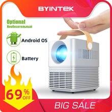 Byintek c720 full hd 1080p портативный удобный 3d видео игры