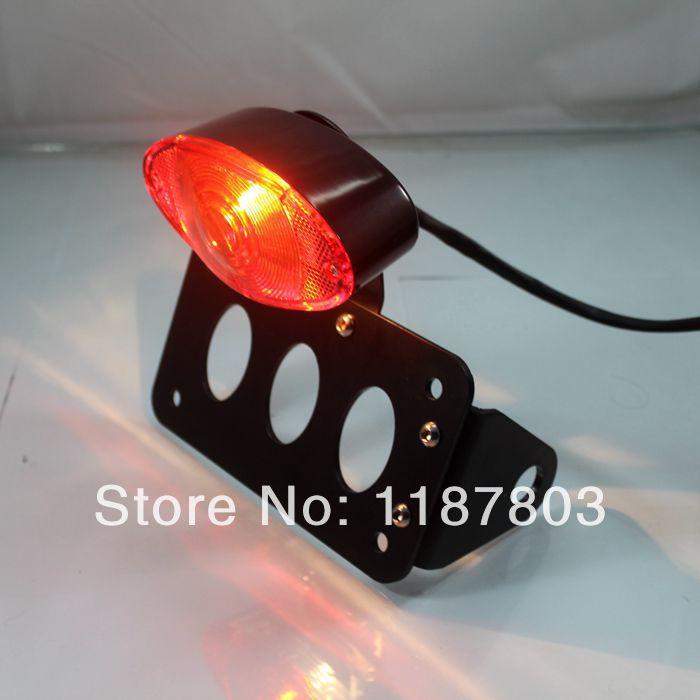 Side Mount License Plate Bracket For harley sportster cb750 xs650 tail light