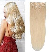 Toysww человеческие волосы на заколках для наращивания 100 г 120 г русские волосы для наращивания на заколках человеческие волосы на всю голову ...