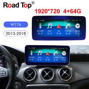 Multimedia-Player Navigation Radio Android-Display Dash Class-W176 Mercede-Benz 4