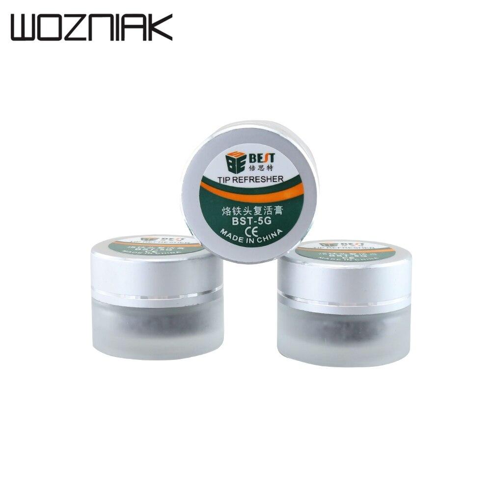 BST-5G Soldering Tips Tinner Refresher Soldering Iron Oxide Paste For Solder Iron Tip Head Resurrection Soldering Acessory