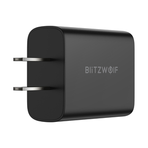 "Image 4 - BlitzWolf BW S19 20W 2 יציאת USB פ""ד מטען PD3.0 PPS QC3.0 SCP FCP AFC מהיר טעינת האיחוד האירופי Plug מתאם LED דיגיטלי תצוגת מטען"
