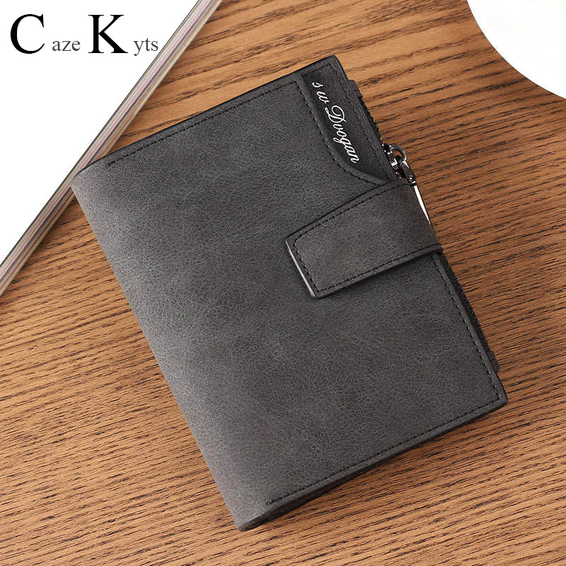 New Ladies Short Wallet Female Zipper Buckle Wallet Multi-function Bag Fashion Simple Fresh Wallet Large Capacity Leather Wallet