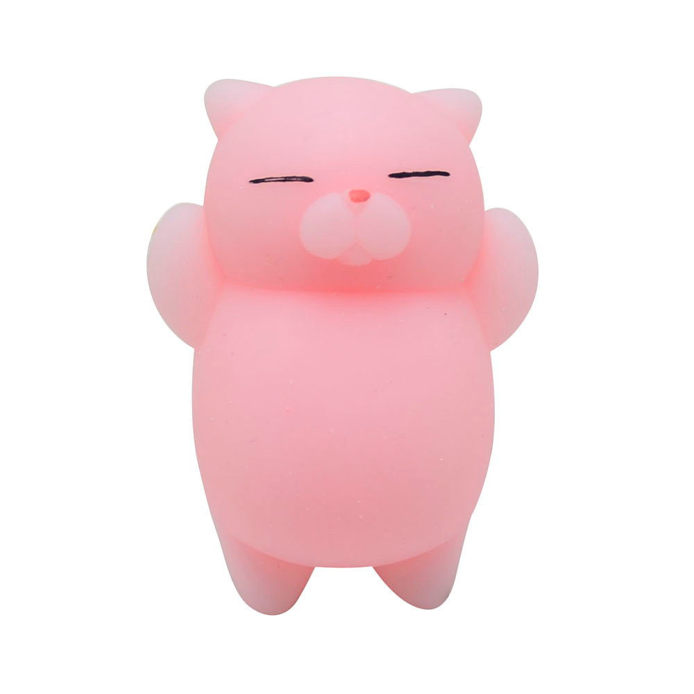 Decompression Toys Squeeze Mochi Squishy Stress Reliever Antistress Fun Cute Kids Cat img4
