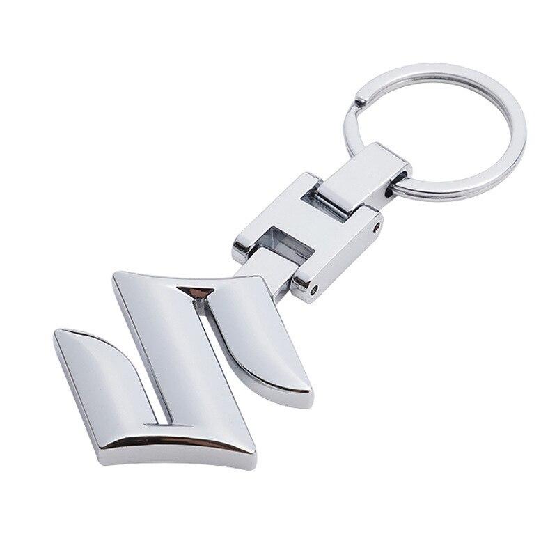 Высокий архив H для Suzuki Автомобильный логотип автомобиля металлическая пряжка рекламная Талия подвесной брелок с кольцом брелок для автомо...