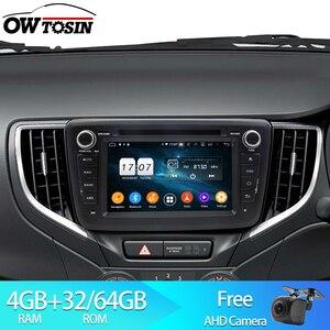 Owtosin 2 din Android 9.0 Car DVD Radio For Suzuki Baleno 2016 2017 2018 Car GPS Navigation Multimedia Player 4GB RAM 32GB ROM