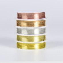 02/03/04/05/06/07/08/1 мм золотистые и Серебристые медные провода