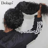 Волнистые волосы с волнистыми прядями 360, прозрачные волосы 13х6 с фронтальной кружевной накладкой, 370, искусственные волосы на всю голову, ...