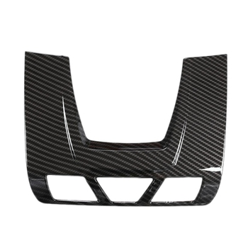 DHBH-Carbon Fiber Front Reading Light Panel Cover Trim Decoration Cover For-BMW 1/2/3 Series F20 F45 F30 F34 X5 F15 X6 F16 image