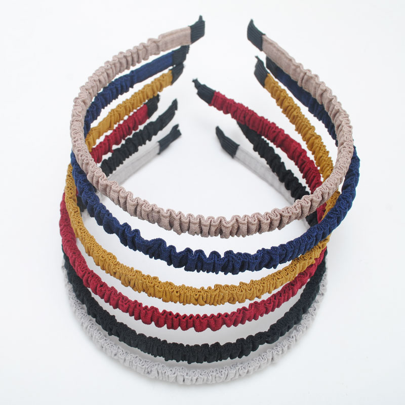 1Piece 10mm Wide  High Quality Solid Hairbands Girls Headband Hair Band Girls Hair Accessories