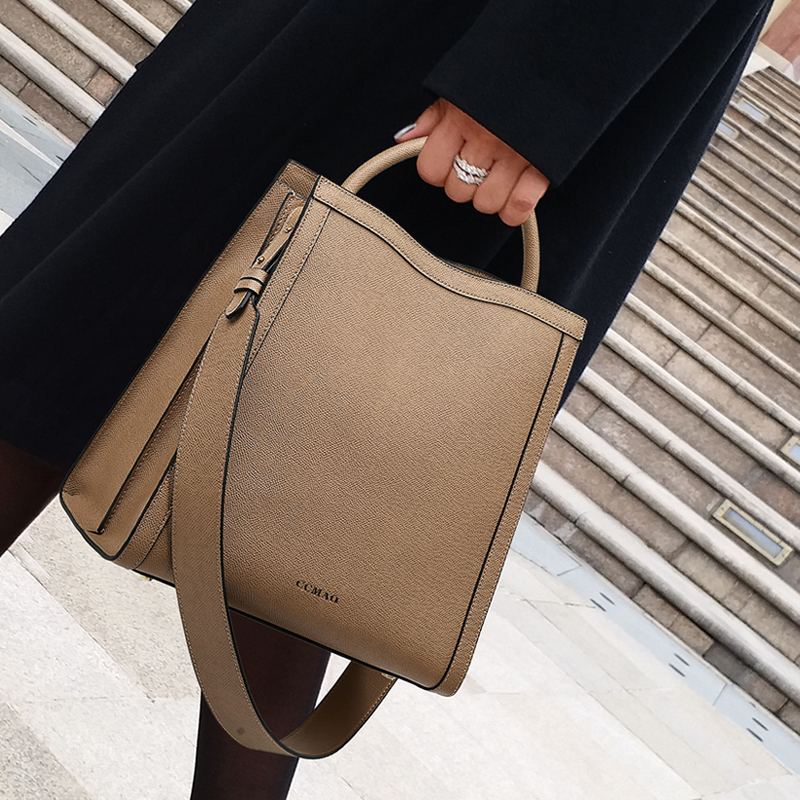 New Brand Casual Large Capacity Women Handbags Vintage PU Leather Women Shoulder Crossbody Bags Fashion Big Shopping Travel Bag