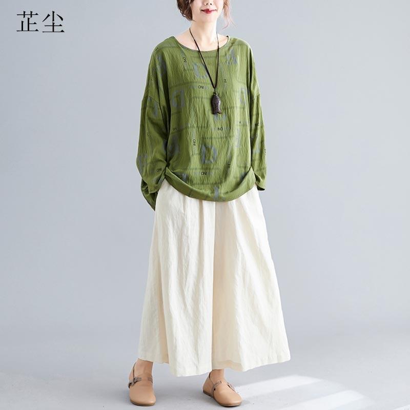 Plus Size Women Tshirt Batwing Sleeve Autumn Winter Lady Letter Print Pullover Cotton Loose Tee Shirt Femme 4XL 5XL 6XL 2019