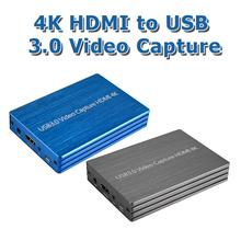 60fps 4K HDMI zu USB 3,0 Video Capture Card Dongle 1080P HD Video Recorder Grabber für OBS Erfassung gaming Live-Streaming