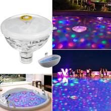 Piscina flutuante luzes led piscina lanterna subaquática paisagem luzes multicolorido piscina piscina festa accessoires