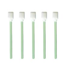 50 sztuk kwadratowy prostokąt gąbka końcówka pianka do pobierania wymazu zielone wolne od kurzu patyczki do czyszczenia do drukarek atramentowych termiczna soczewka optyczna tanie tanio BFHFDD CN (pochodzenie) Wacik