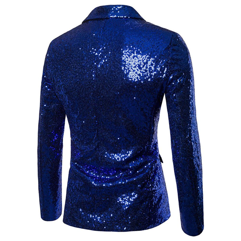 Sequin Glitter Blazer Terno masculino Nightclub Prom Suit Jacket Blazers Mens DJ Stage Clothes for Singers Costume Homme in Suit Jackets from Men 39 s Clothing