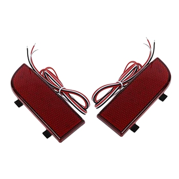 2 PCS LED Rear Bumper Lights, Rear Fog Lights for Brakes, for Mercedes-Benz Vito Viano W639 2003-2014 image