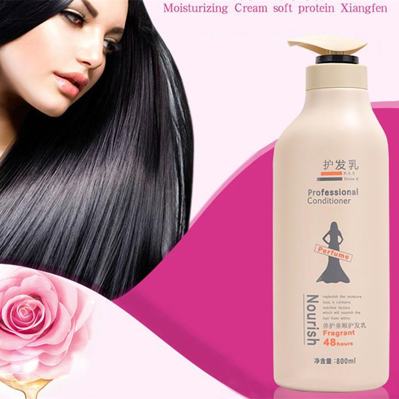 Professional Perfume Hair Conditioner Abundance Fluffy Moisturizing Nourishing Repair Damaged Hair Mask Scalp Treatment 800ml image