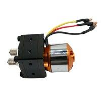 Legierung Mini Hydraulische Öl Pumpe mit Bürstenlosen Motor Für 1/12 1/14 RC Bagger Bulldozer Anhänger Auto Lkw Teile