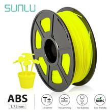 SUNLU Excellent impact strength abrasion performance abs plastic abs material price 3d printer filament 3d filament 2.85