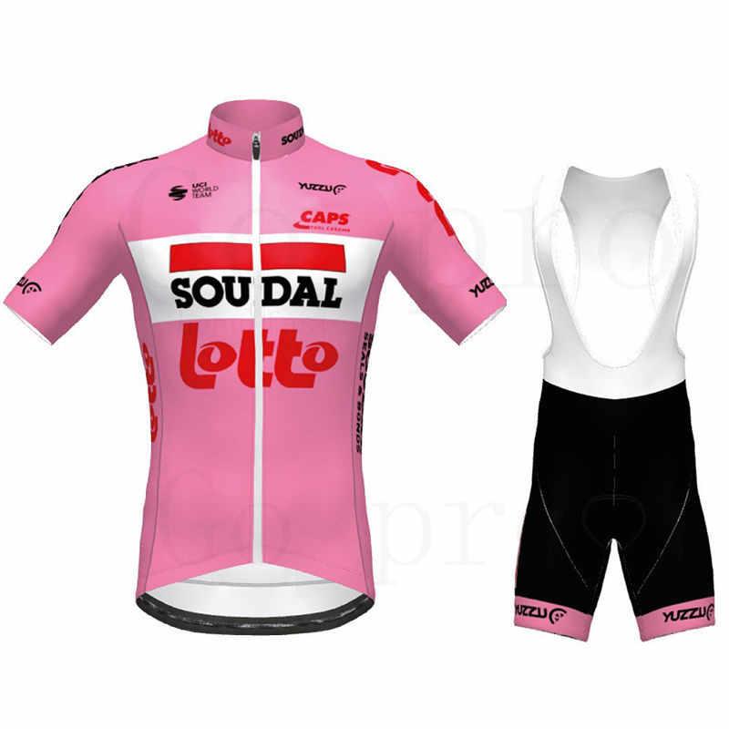 2020 Team Bike Jersey Cycling Clothing Bicycle Tops Bib Shorts Set Ropa Ciclismo