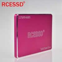 Rcessd metal dis disco rígido 1 tb sata3 hd ssd disco rígido 1 tb portátil unidade de estado sólido interno 128 256 512 gb para desktop pc