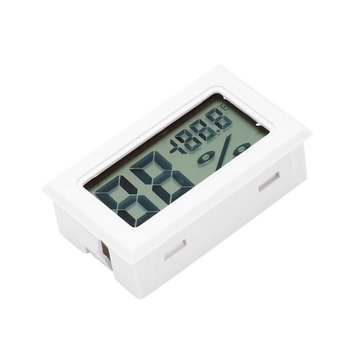 цена на Lose sales Mini digital LCD  HTC-2 indoor  temperature sensor hygrometer thermometer hygrometer table Practical and portable