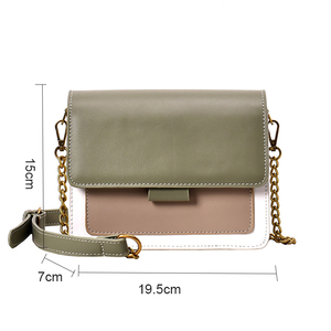 Image 5 - Brand Leather Crossbody Bags For Women 2020 Chain Shoulder Messenger Bag Lady Travel Purses Mini Handbags Cross Body Bag Fashion