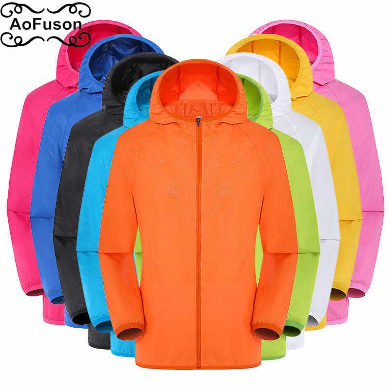 Jaqueta de trekking secagem rápida proteção solar impermeável leve casaco chaquetas hombre pesca ao ar livre ciclismo escalada casaco