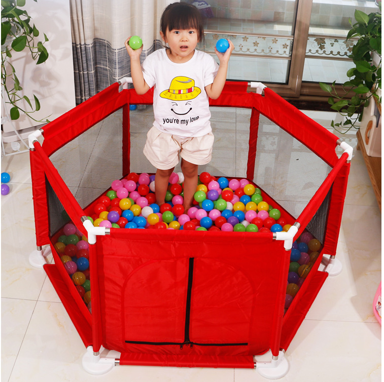 Children Gaming Fence Indoor Baby Creeping Mat Protective Grating Household Amusement Park Infant Safe Crawling  Bar Fence