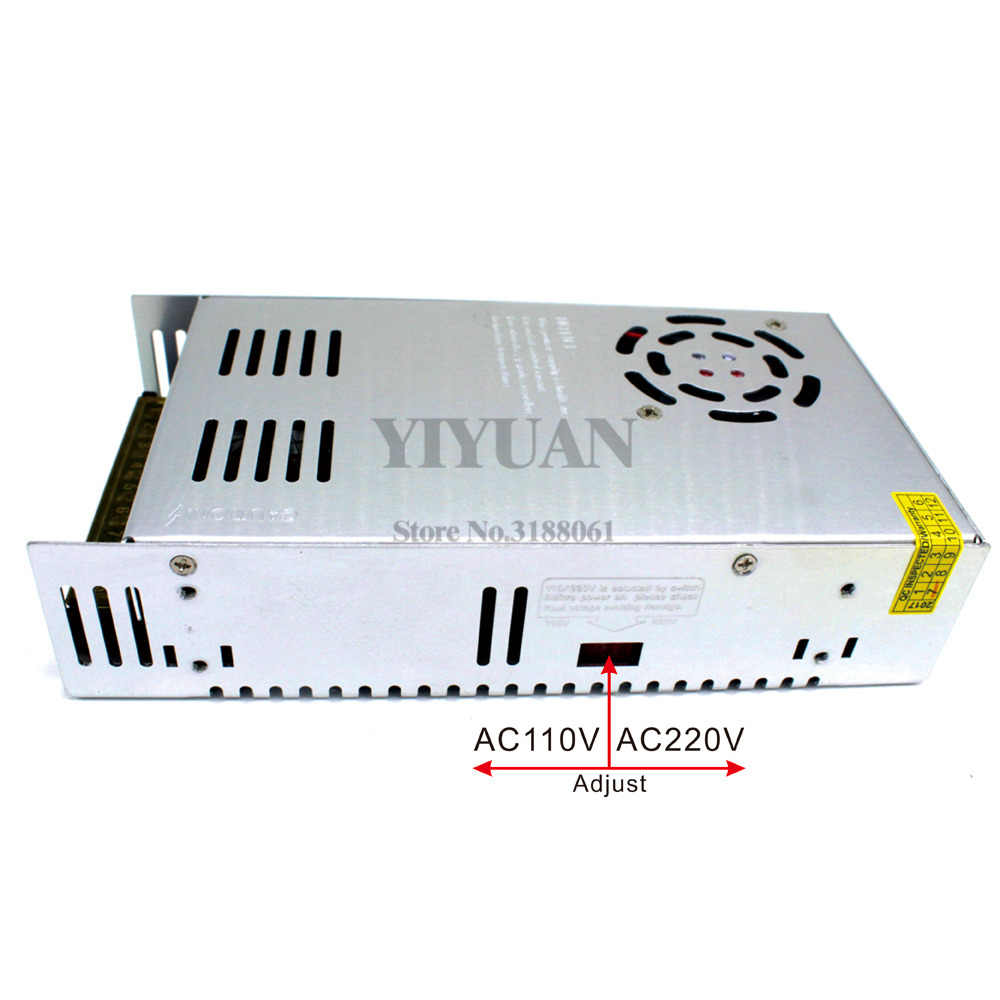 Mała objętość 600W 12V 24V 36V 48V 60V przełączanie zasilania transformatory AC110V 220V do DC12V SMPS dla Led CCTV 3D drukarki