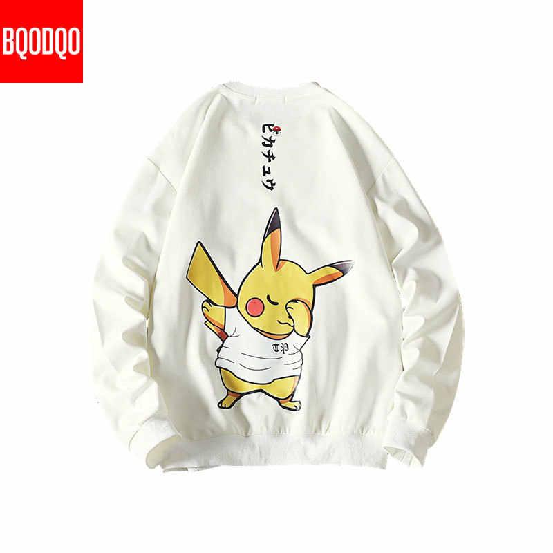 5XL Anime Hoodies Mannen Zwart Hooded Japanse Stijl Cartoon Sweatshirt Heren Hip Hop Bruin Causale Hoodiee Geen Xxxtentacion Losse