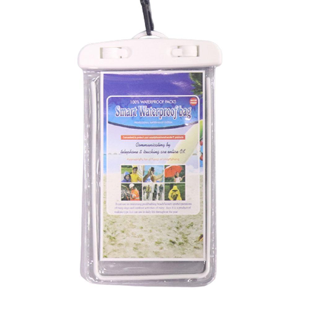 Luminous Pvc Mobile Phone Waterproof Bag Diving Cover Swimming Photo Screen Waterproof Cover Rain Cover