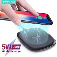 Joyroom 5w rápido carregamento sem fio para qc 3.0 rápido carregador de telefone para iphone 11 x xr xs max samsung s10 s9 nota 10 xiaomi mi 9