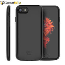 4000mAh Battery Charger Case For iPhone 6 6s 5 5S SE Case Powerbank Charger Case For iPhone X/XR/XS Max 7 Plus 11 Battery Case(China)