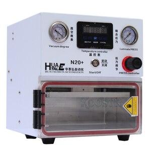 Image 4 - 220V/110V מיני N20 LCD מכונת למינציה OCA למינציה אוניברסלי עבור סמסונג עקום קצה iPhone ושטוח מסכי לשפץ