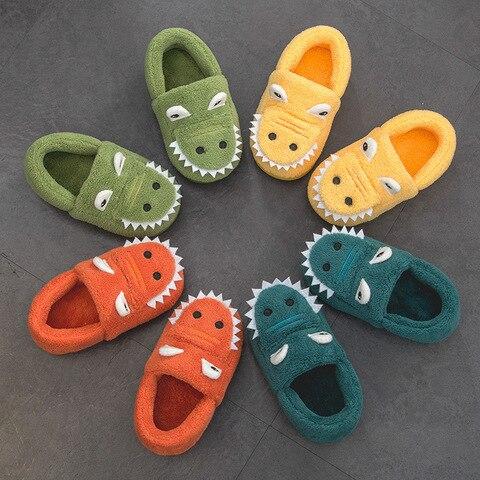 uly bebe criancas sapatos de algodao dinossauro