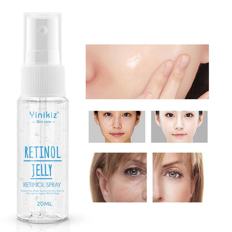 Retinol Moisturizing Spray Facial Moisturizing Toners Repair Soothing Skin Firming Serum Brightens Skin Color Face Essence Toner