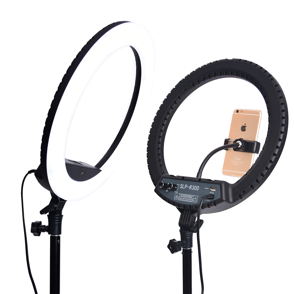 H5caa07519b594954bfd44c1333580db7r WalkingWay 18 inch LED Ring Light with Tripod Dimmable Photographic Lighting Studio Video light for tik tok Makeup Youtube Live