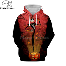 PLstar Cosmos jack skellington black cat party 3d hoodies/shirt/Sweatshirt Winter Christmas Halloween streetwear-11