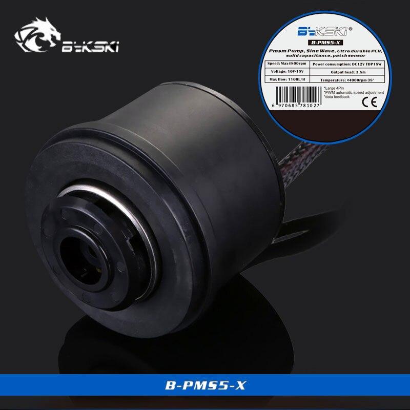 Bykski B-PMS5-X D5 PWM pompe régulation de vitesse automatique pompe de refroidissement à eau